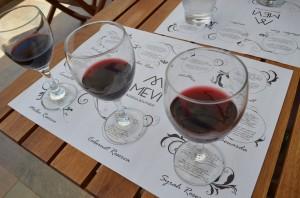 The Mevi wines