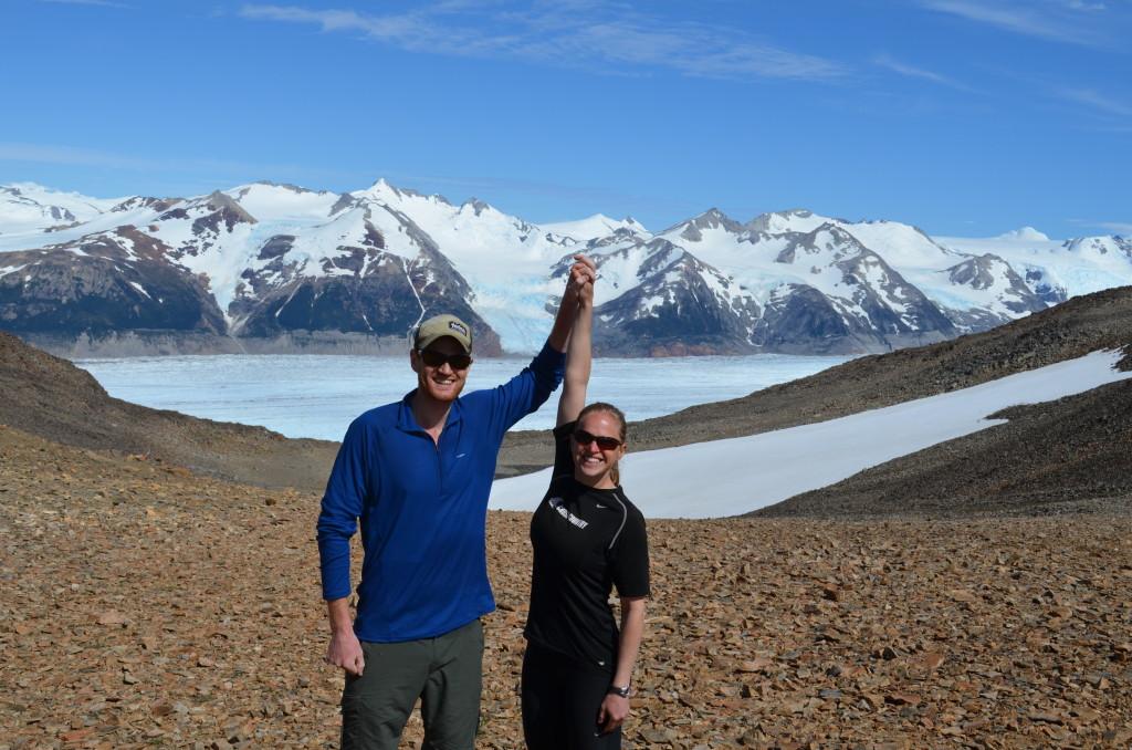 Day 4 - Summit of John Gardner Pass (1200 meters).