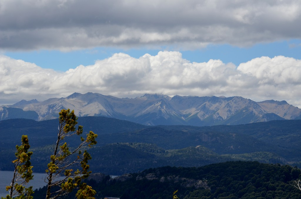 Cerro Campanero on a cloudy day.