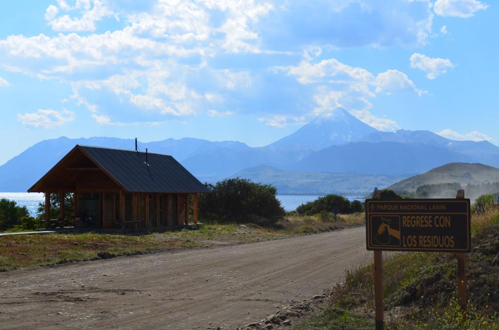 The Ranger station of Parque de Nacional Lanin.