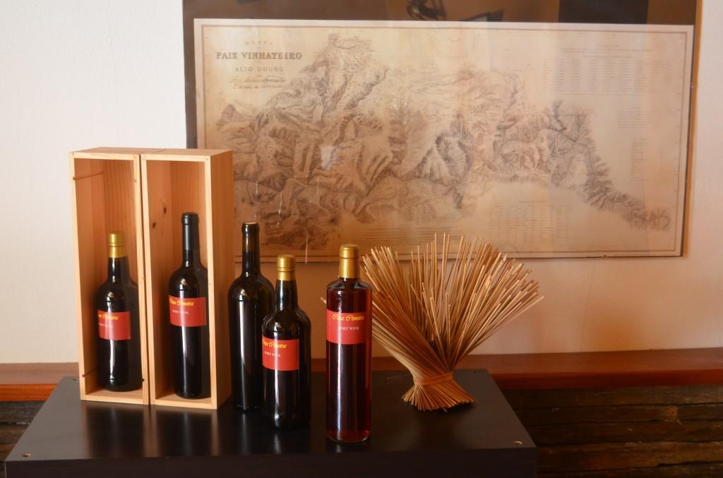Homebrewed Port wine at the Casa