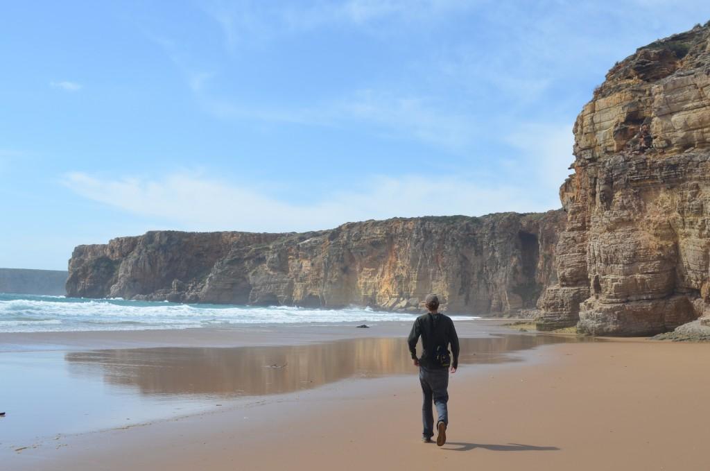 . . . he loves long walks on the beach. . .