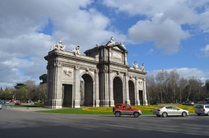 Welcome to Madrid - the gate to the city . . . at least in the days of horses and wagons :)