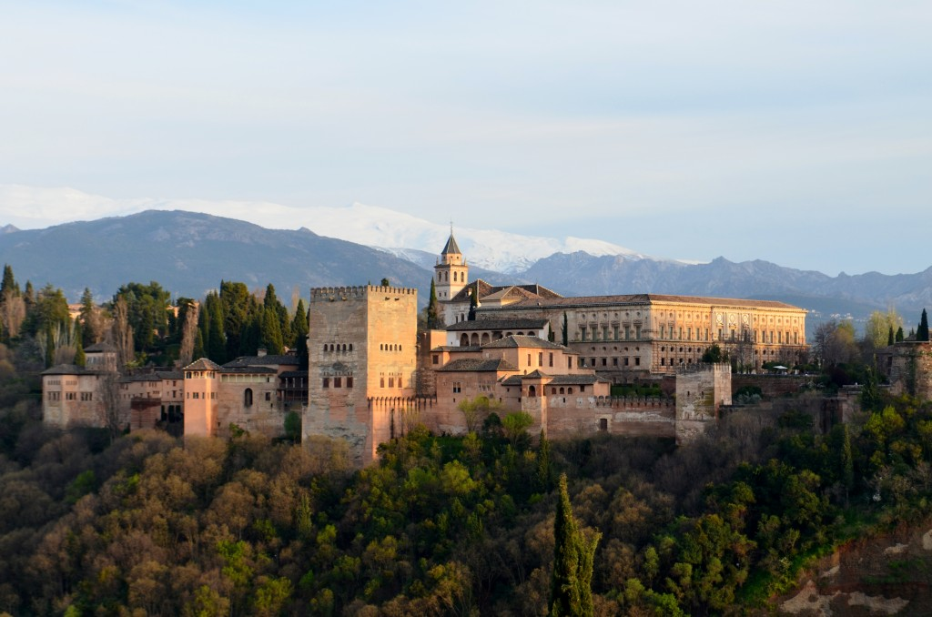The Alhambra - the famous castle in Granada
