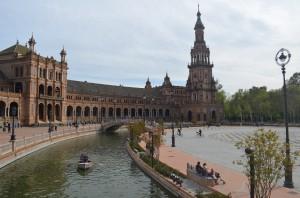 Plaza de Espana in Sevilla!