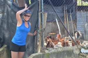 Day 3: Karen found chickens!