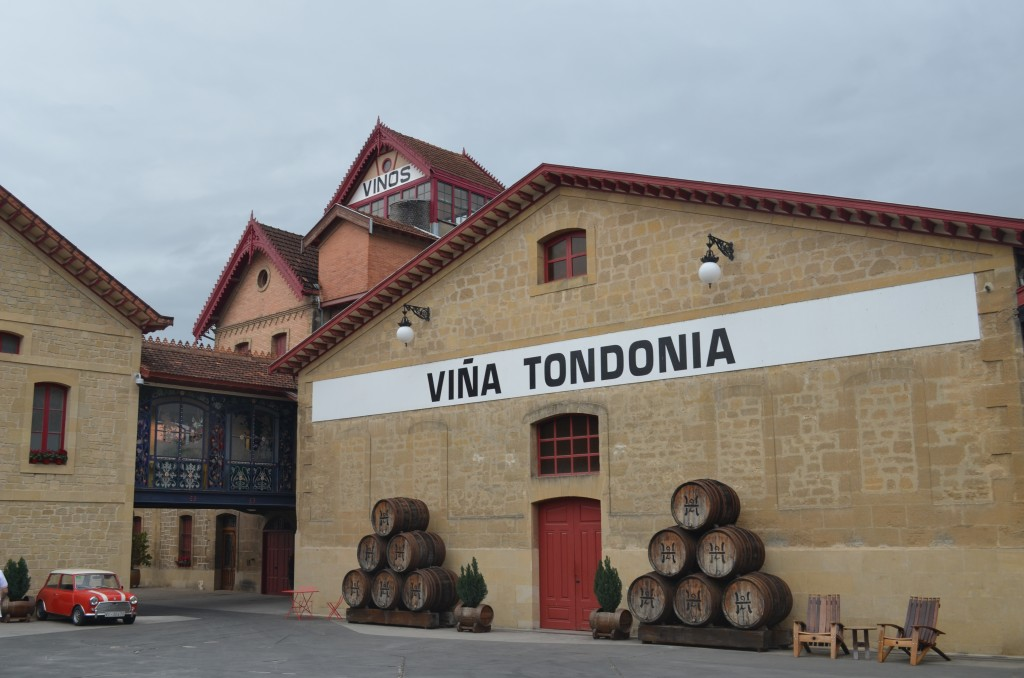 Lopez de Heredia winery in Haro